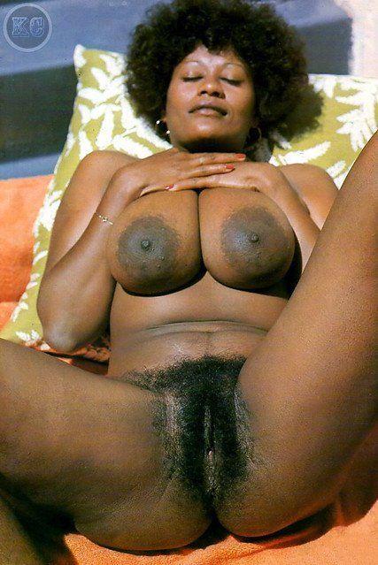 Big black hair pussy