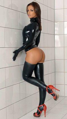 Hot girls in latex porn