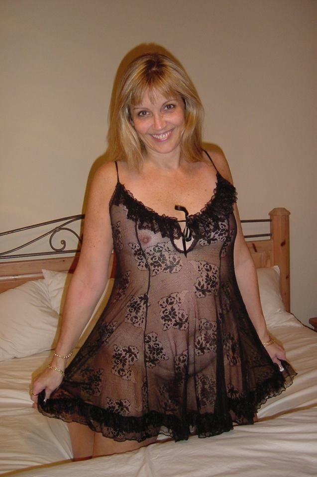 Sexy mom amateur dress