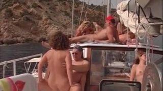 Boat on swinger sex