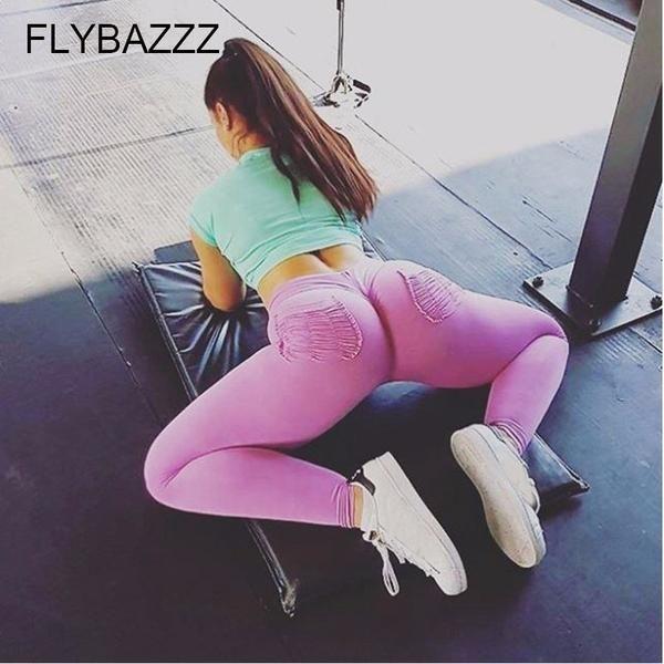 Perfect round ass yoga pants bubble butt