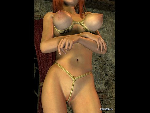 Cgi rendered big tits