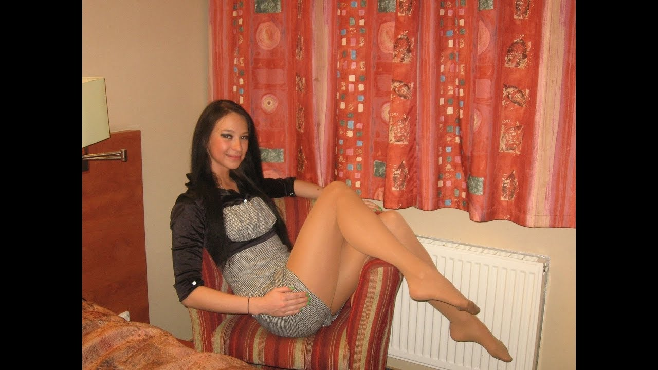 Amateur pantyhose nylon czech girls
