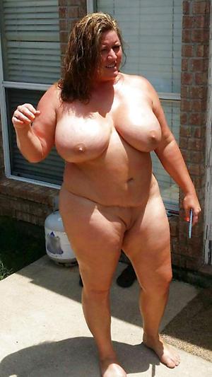 Chubby granny wife nude