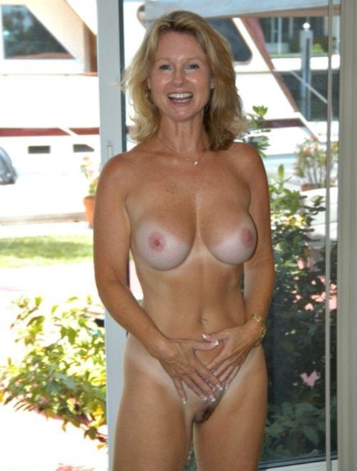 Nude mature women tan lines