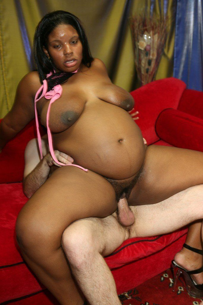 Black nude bbw pregnant