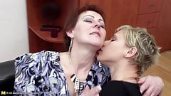 Old and young porn lesbian