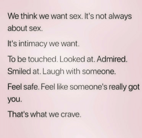 Like what really is sex