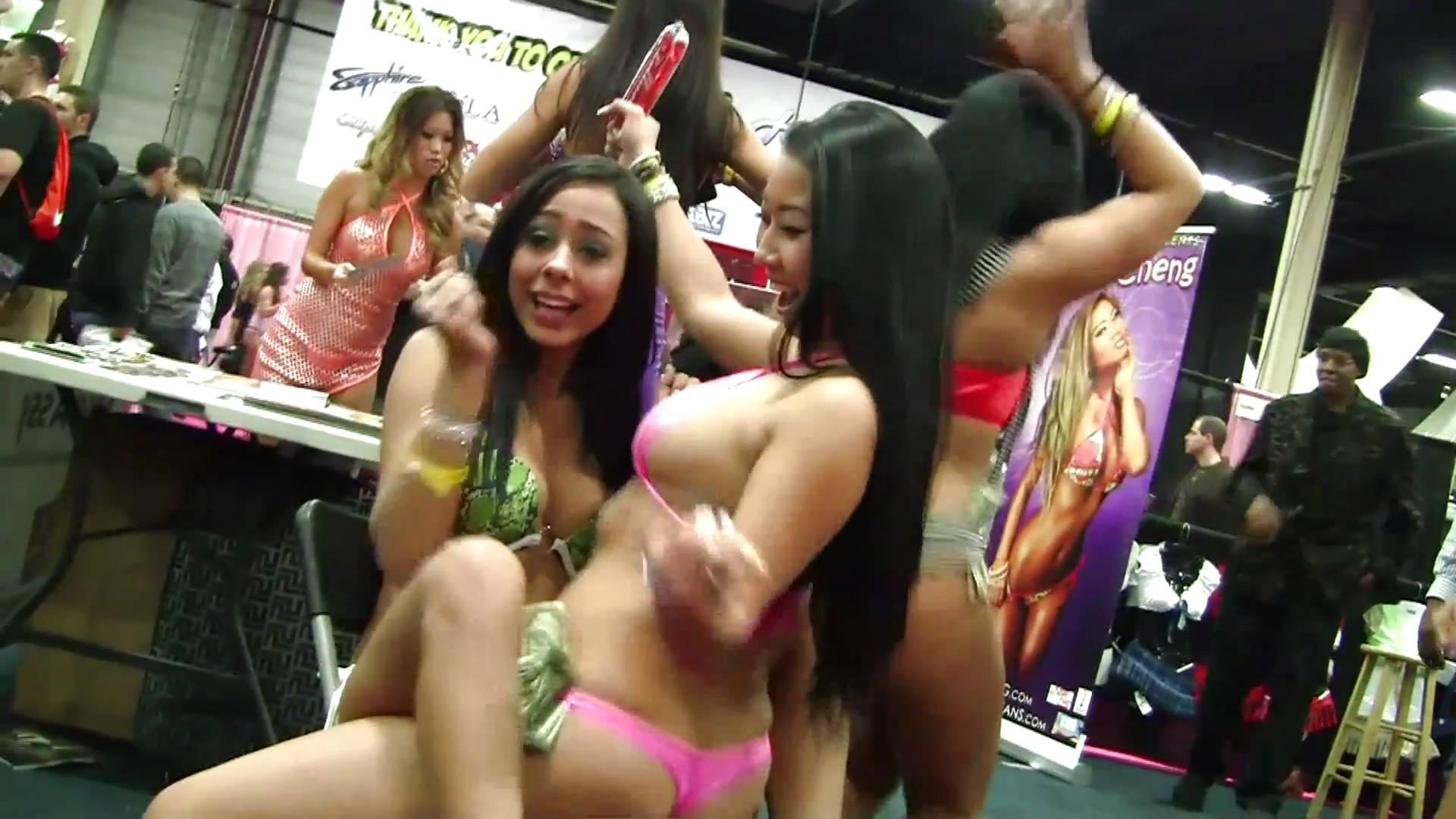 Hot sexy girls stripping having sex