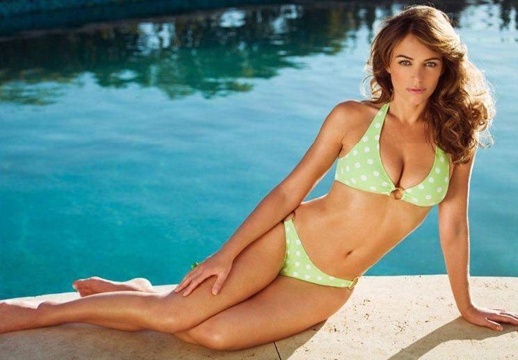 Elizabeth hurley swimwear bikini girls