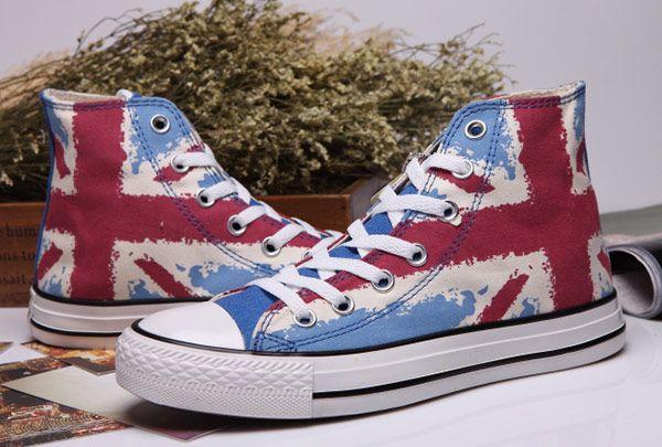 British flag converse chuck taylor
