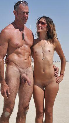 Naked burning man nude