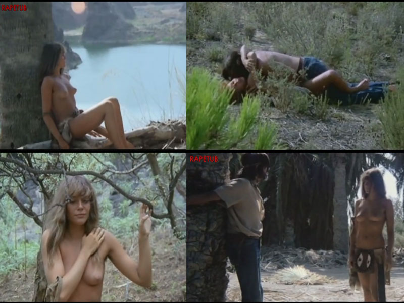 White women nude with tribe