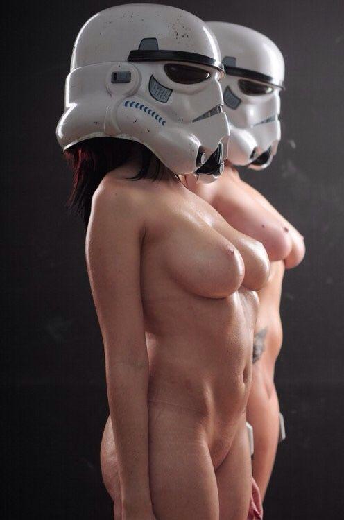 Sexy naked star wars girl leia