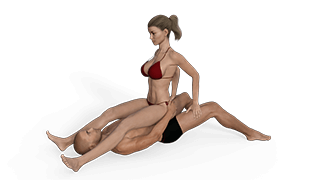 Workout bench sex positions