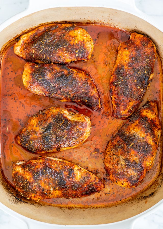 Baked chicken breast boneless