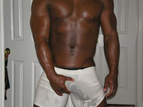 Black men with big dics in underwear