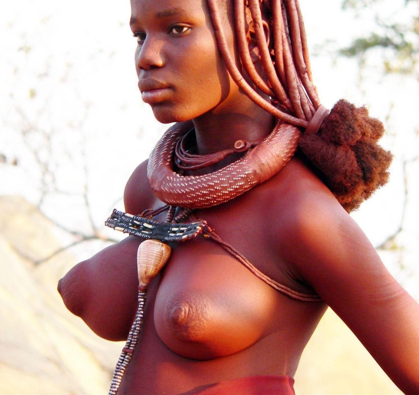 Black with nipples african boobs girl