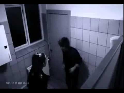 Girl boys having sex in bathroom