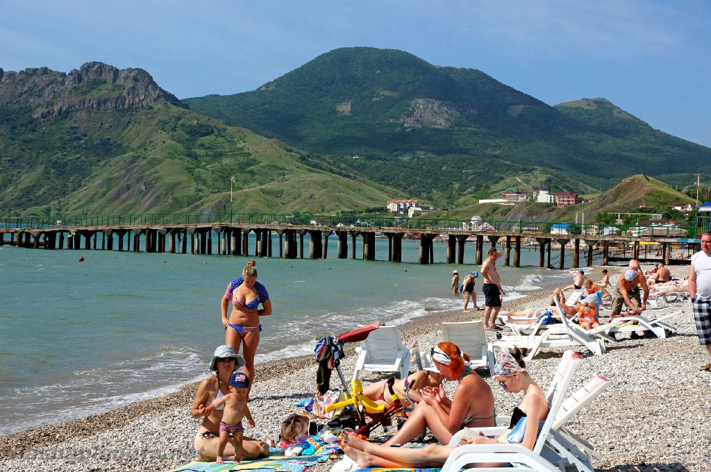 Crimea nude beach girls