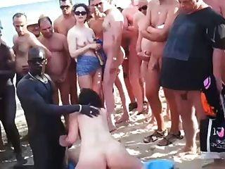 Nude beach voyeur group sex