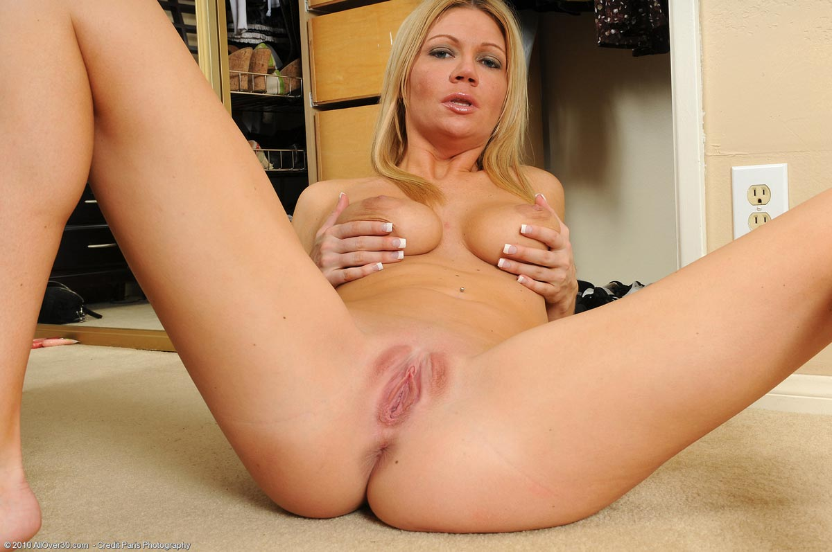 Christina blonde cougar strip