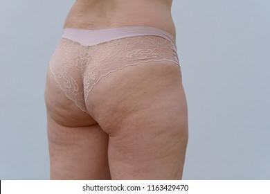 Bbw panties rear views