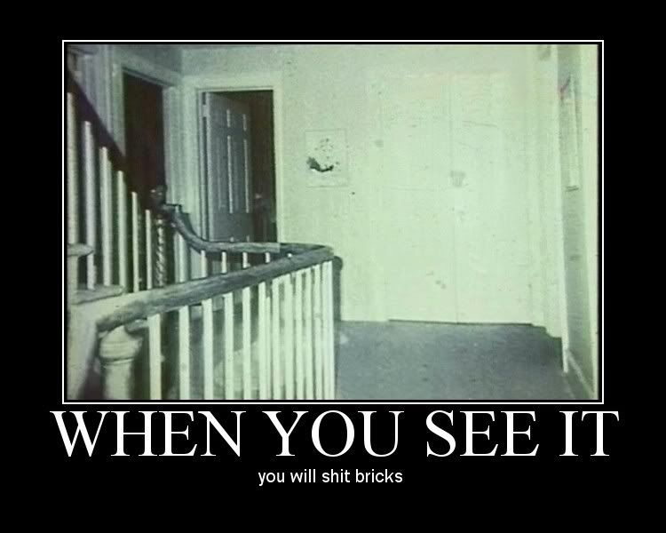 When you see it you shit bricks