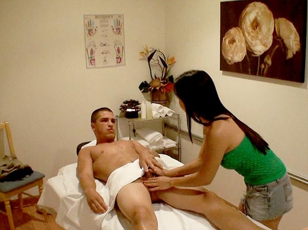 Cfnm happy ending massage
