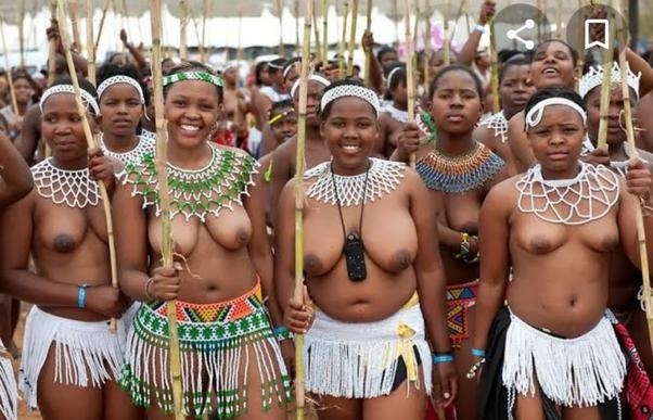 Nude south african zulus girls