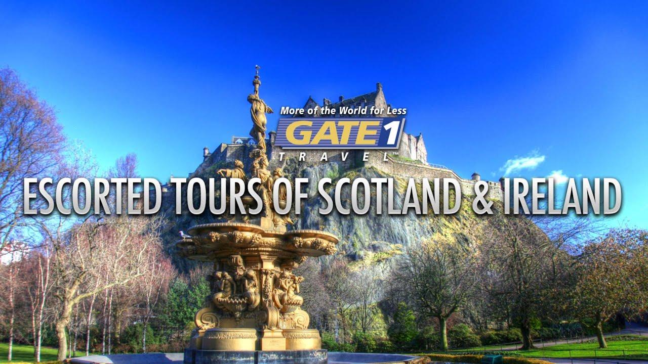 Escorted tours of ireland scotland