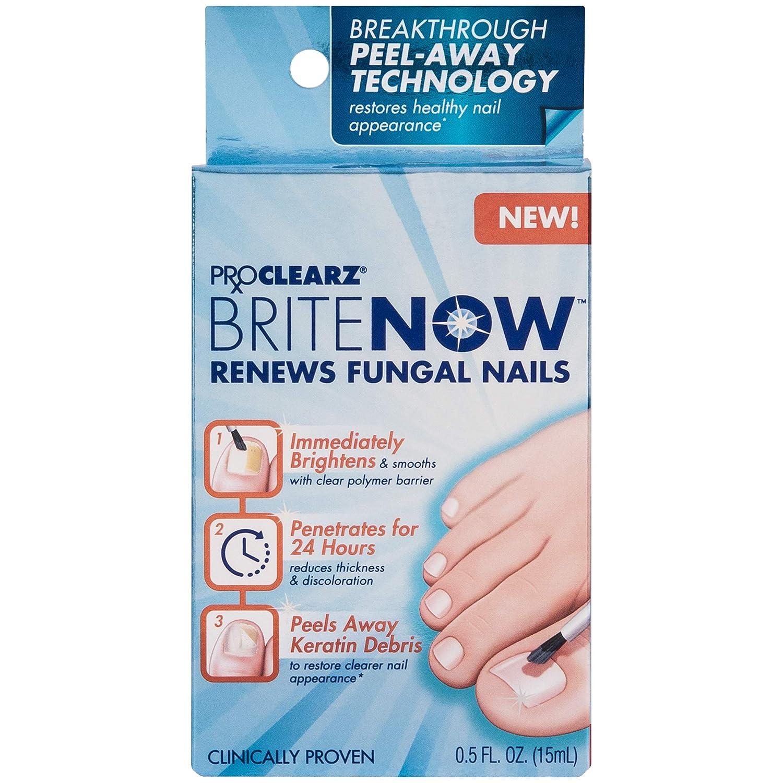 Toenail penetrates fungus and