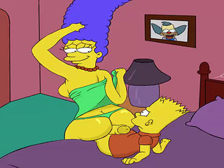 Cartoon sex mom son image
