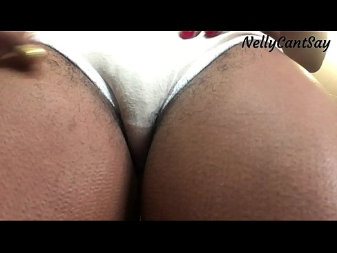 Vagina of black chubby girls in lace panties