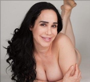 Adult naked woman action figure