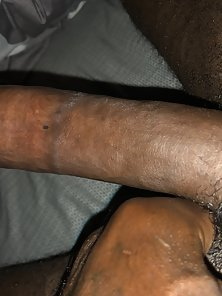 Photos of a black long dick