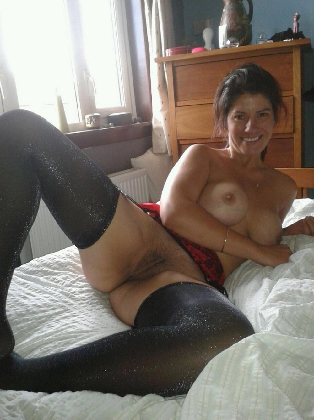 Tumblr mature women wearing black stockings