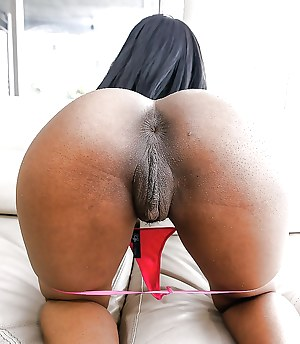 Ass black black pussy fat
