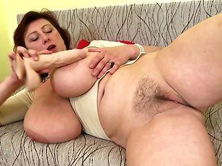 Homemade mature lesbian big tits