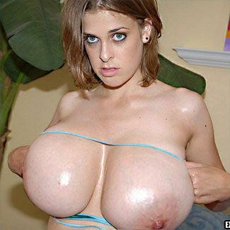 Extreme big natural tits boobs