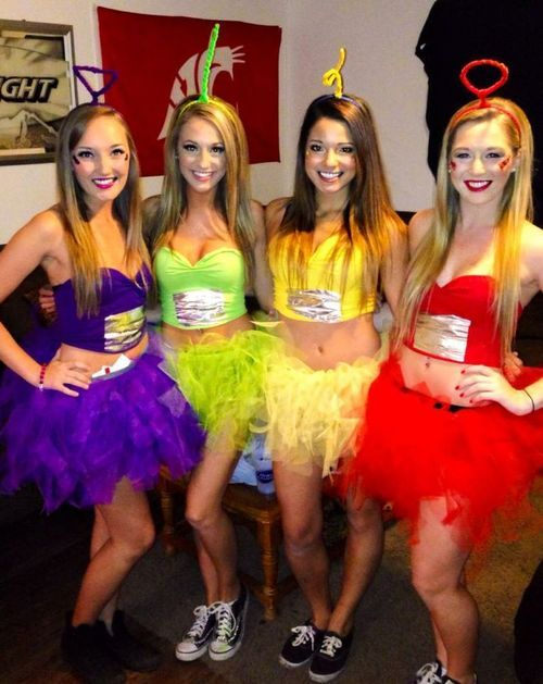Slutty college halloween party