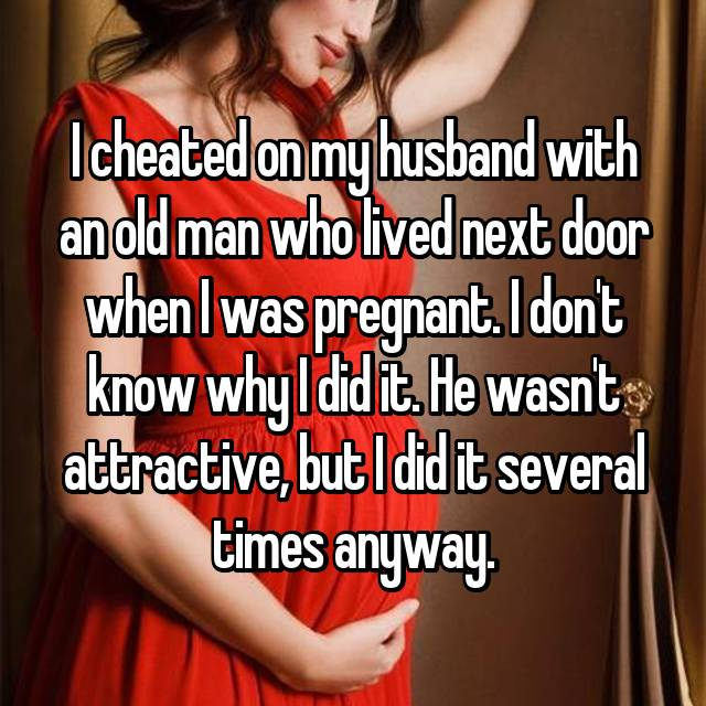 Cheating pregnant wives captions