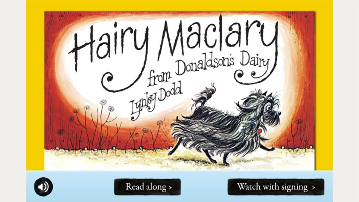 Hairy mclary from donaldsons