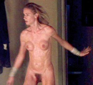 Junior nudist girls peeing