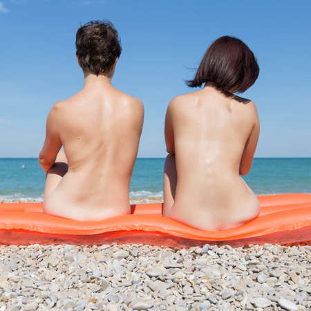 Women sunbathing on beach nude porn