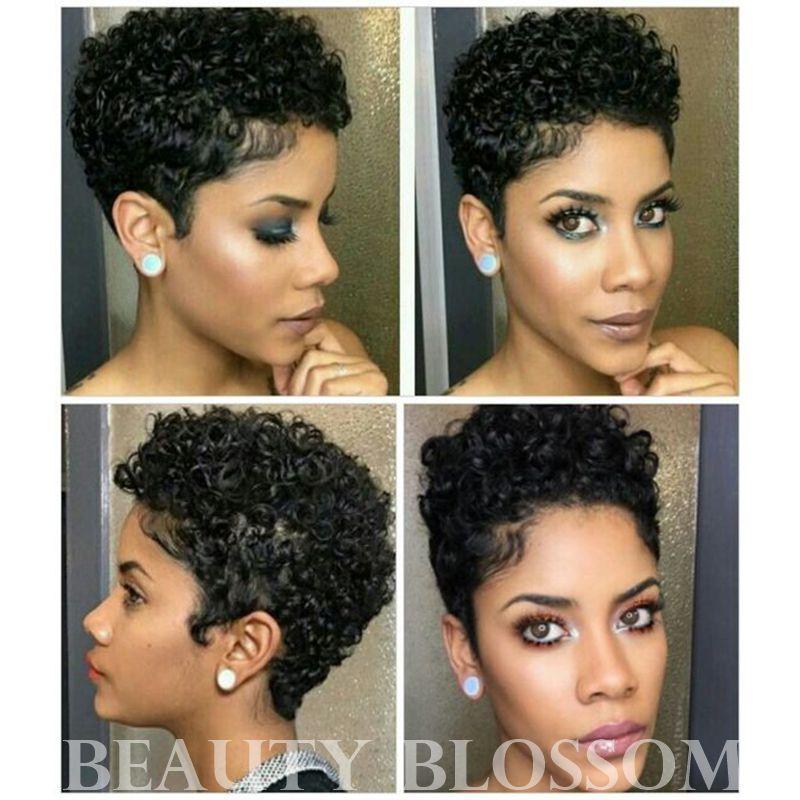 Short lace front wigs
