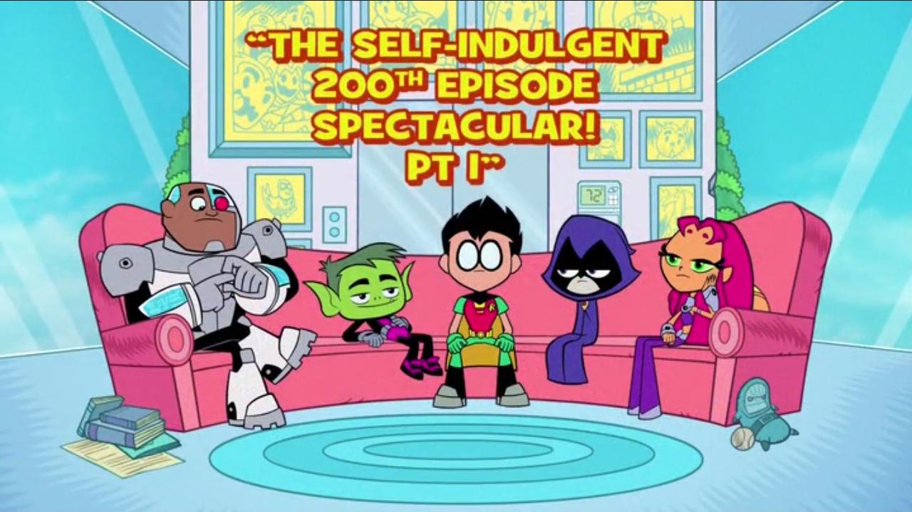 Teen titans first episode go
