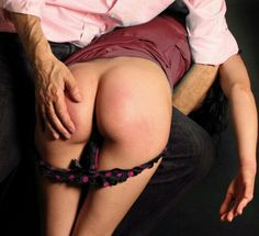 Panties down spanking girls