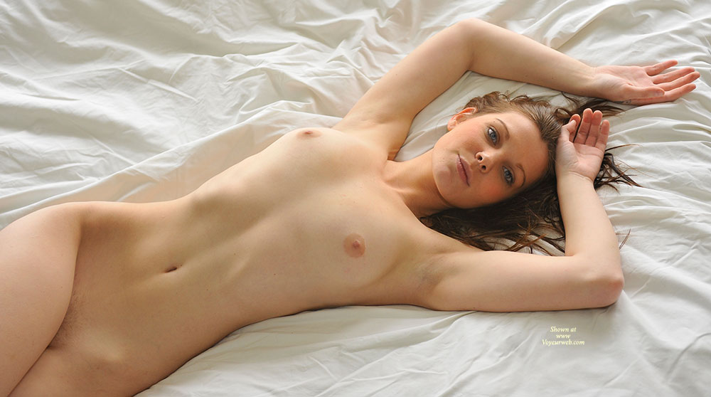 Black naked sexy girls laying on bed