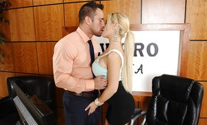 Mature couple having oral sex